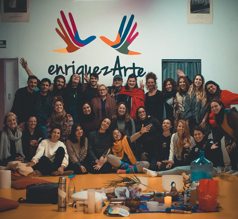 Voluntariado en Enriquezarte Centro Cultural Barcelona